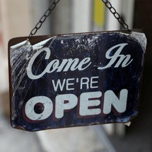 Pro Shopkeep Open Sign