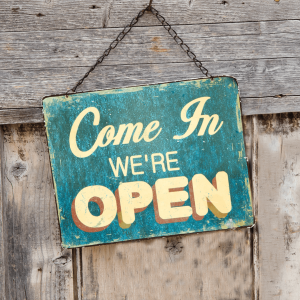 Shopkeep Open Sign