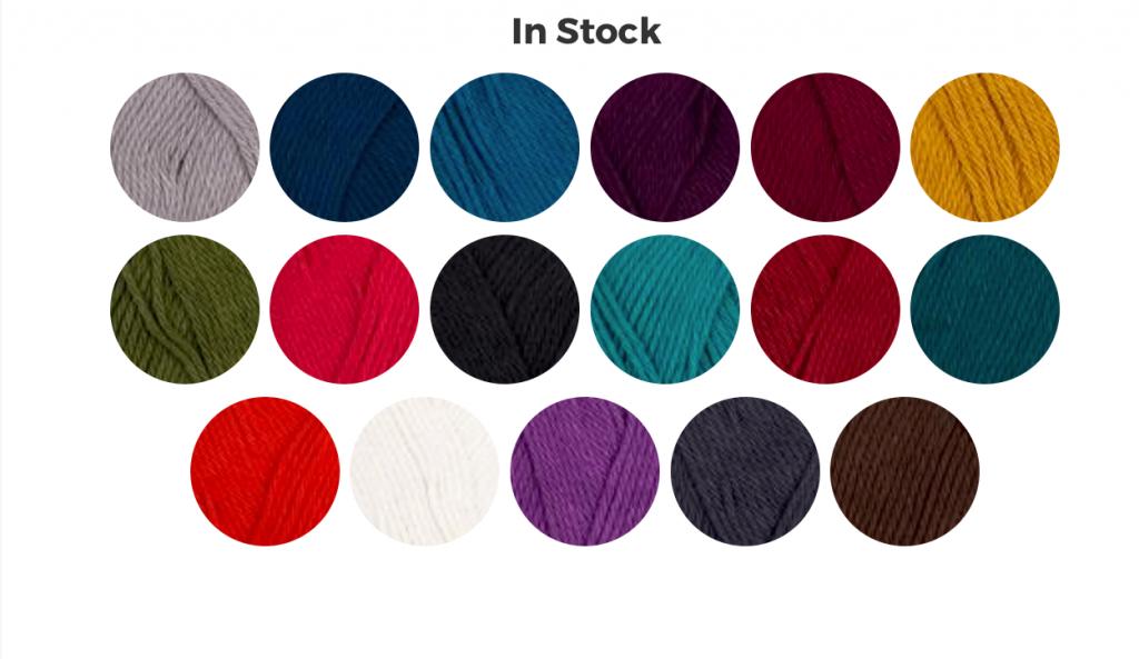 bamboo yarn colors