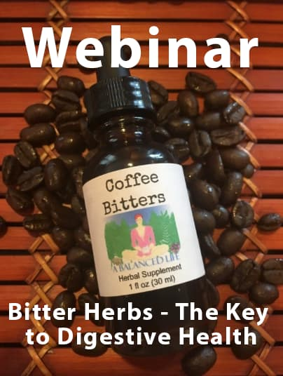 bitter herbs webinar announcement