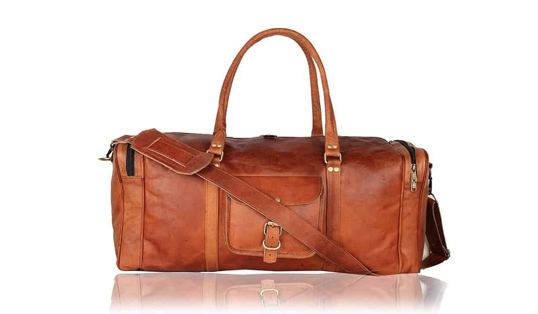 Leather Native Duffle Bag