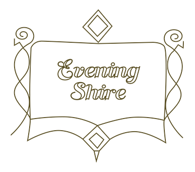 evening shire sign