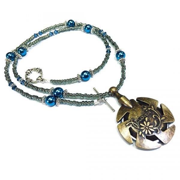 Yarn Cutter Pendant Necklace