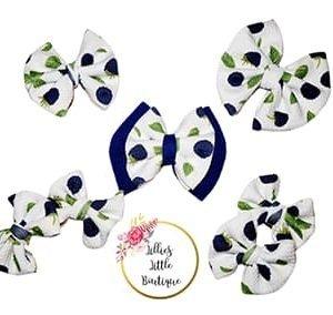 Blue Raspberry Bows