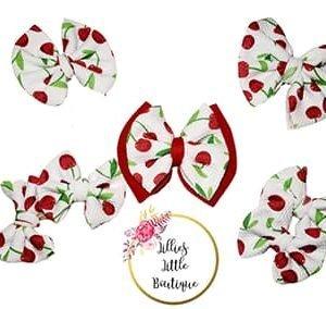 Cherry Bombs Bows