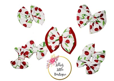 Cherry Bombs Bows