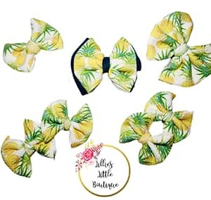 Juicy Pineapple Bows