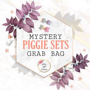 .Mystery PIGGIE SETS Grab Bags