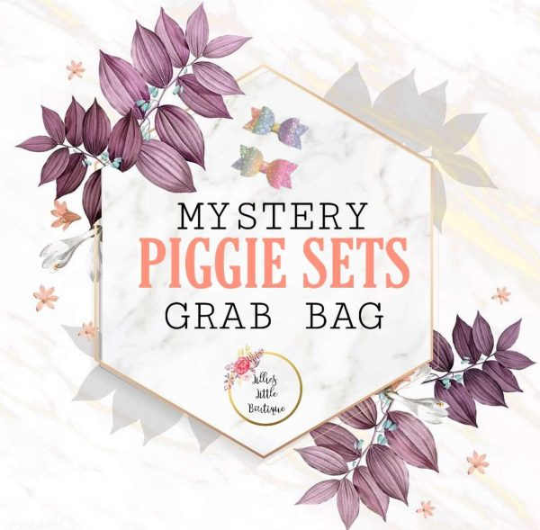 .Mystery PIGGIE SETS Grab Bags