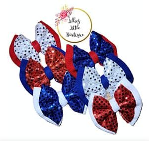 Star Spangled Double Stacks Bows