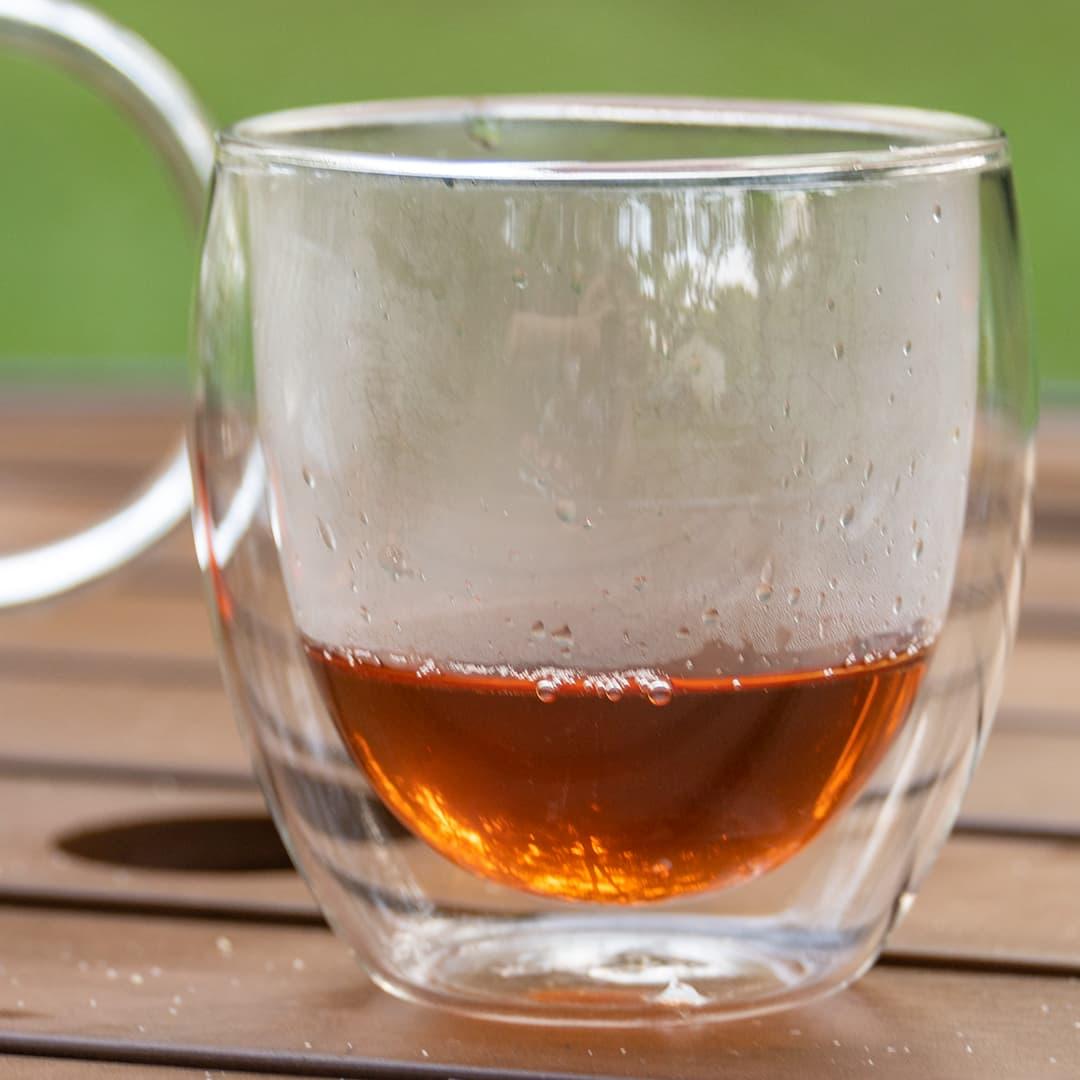 Teabox glass Tea cup